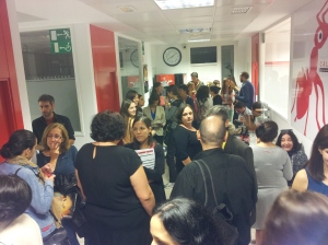 Gentío en #JornadaCYC2014